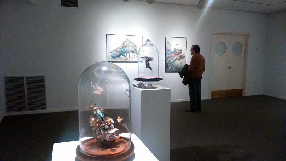 Detalle de la exposición / S. MARTÍNEZ.