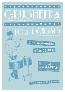 GRUSHENKA + LOS BONSAIS @ La Salvaje, Oviedo | Oviedo | Principado de Asturias | España