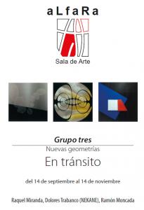 NUEVAS GEOMETRÍAS. EN TRÁNISTO @ Galeria Alfara, Oviedo | Oviedo | Principado de Asturias | España